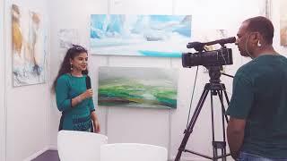 Solo Exhibition of Rashmi Pitre at the J.J. School of Art, Mumbai
