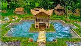 Build Swimming Pool Underground around Hut(Full)