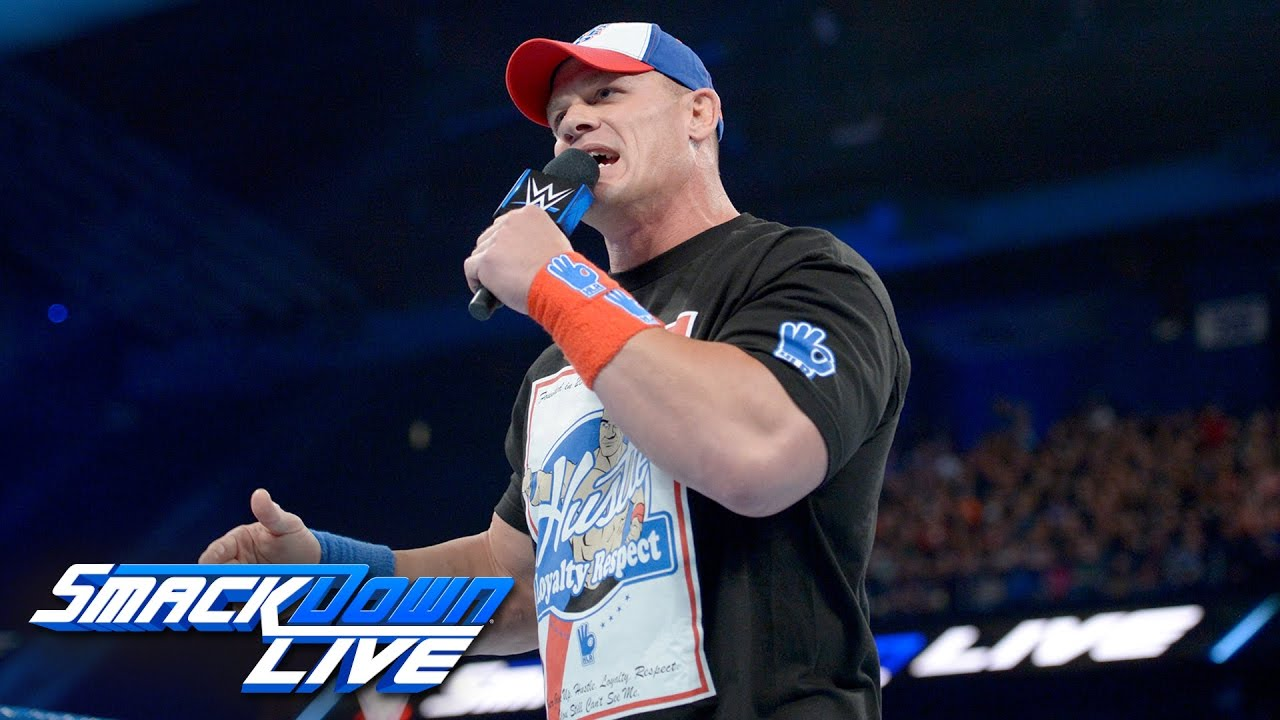 John Cena returns with a huge Royal Rumble challenge: SmackDown LIVE Wild Card Finals, Dec. 27, 2016
