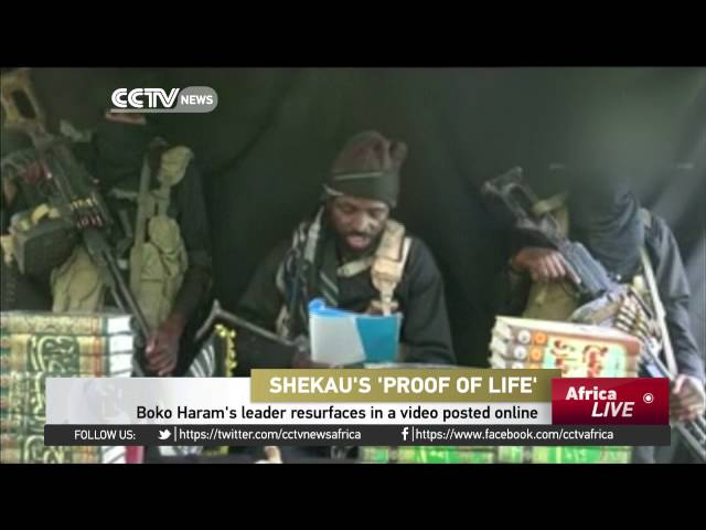 Boko Haram's leader resurfaces in a video posted online