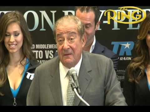 Miguel Cotto-Sergio Martinez New York City Press Conference