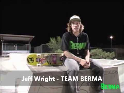 Jeff Wright wears BERMA (NONSTOP TOUR 2010 - Desert Hot Springs, CA)
