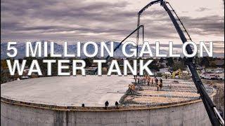 5 Million Gallon Water Tank In Kearns Utah