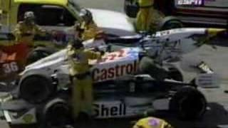 1998 CART Road America Herta/Barron Crash
