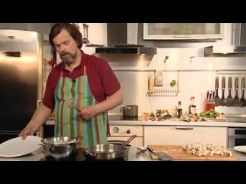 Как приготовить Курицу в сметане с грибами - Рецепты / Курица - Кухня ТВ (Мужская еда)