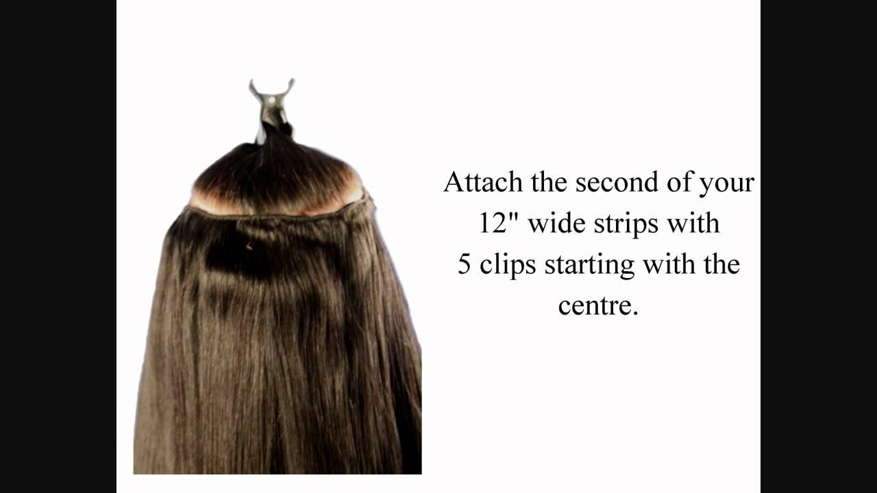 Full Set Hair Extensions Full Head Set Clip in Hair