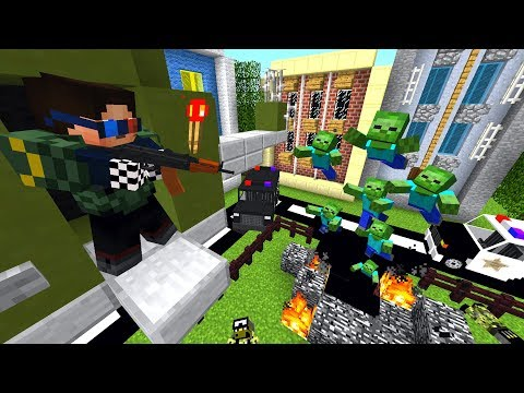 Конец! Зомби Вирус Вырвался из Припяти! Зомби Апокалипсис в Майнкрафт! - (Minecraft - Сериал)