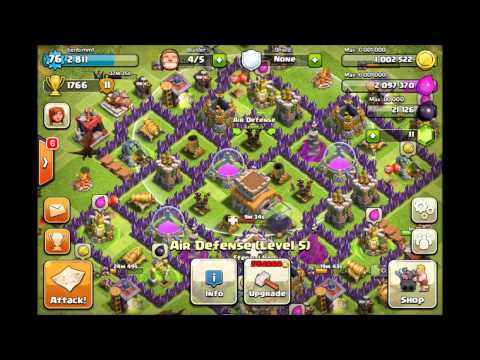 BEST Clash of Clans Defense - Town Hall 8 Trophy Base (Updated)