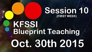 KFSSI Blueprint Teaching HD #Session 10