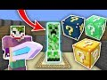 DEV CREEPER VS ŞANS BLOKLARI CHALLENGE - Minecraft