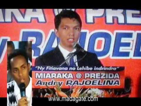 Andry Rajoelina; Manjaka Tsiresy, AFP 21.02.2014