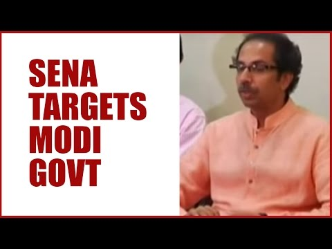 Shiv Sena's Saamna Slams Narendra Modi Government