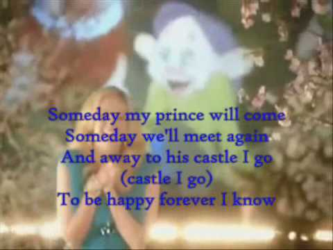 Tiffany Torthon - Someday My Prince Will Come - with lyrics [HQ]