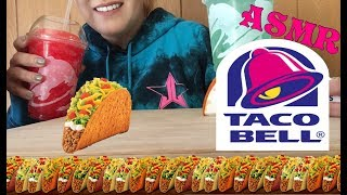 ASMR Eating Like Jeffree Star Taco Bell Mukbang (No Talking)