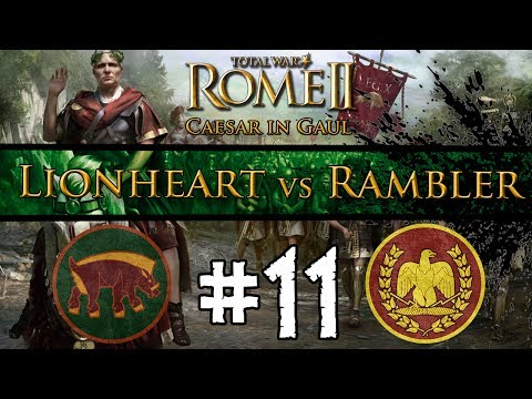 Total War: Rome II - Caesar In Gaul: Multiplayer Campaign vs The Rambler ~ #11