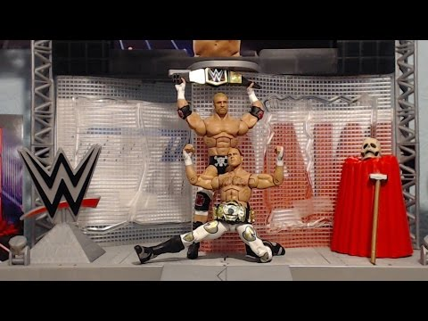 WWE Mattel Wrestlemania 33 Elite Triple H and Shawn Michaels Unboxing & Review