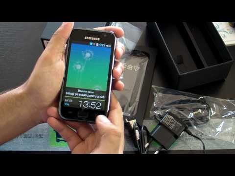 Samsung i9000 GALAXY Review HD ( in Romana ) - www.TelefonulTau.eu -