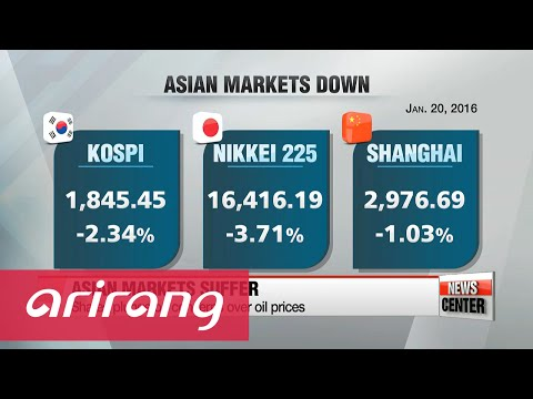 Asian stocks plunge as oil price concerns heighten