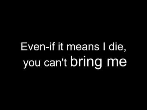 Suicidal Tendencies-You Can´t Bring Me Down (Lyrics)