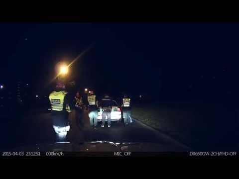 Kelių eismo taisyklių pažeidėjas bandė bėgti nuo policijos pareigūnų