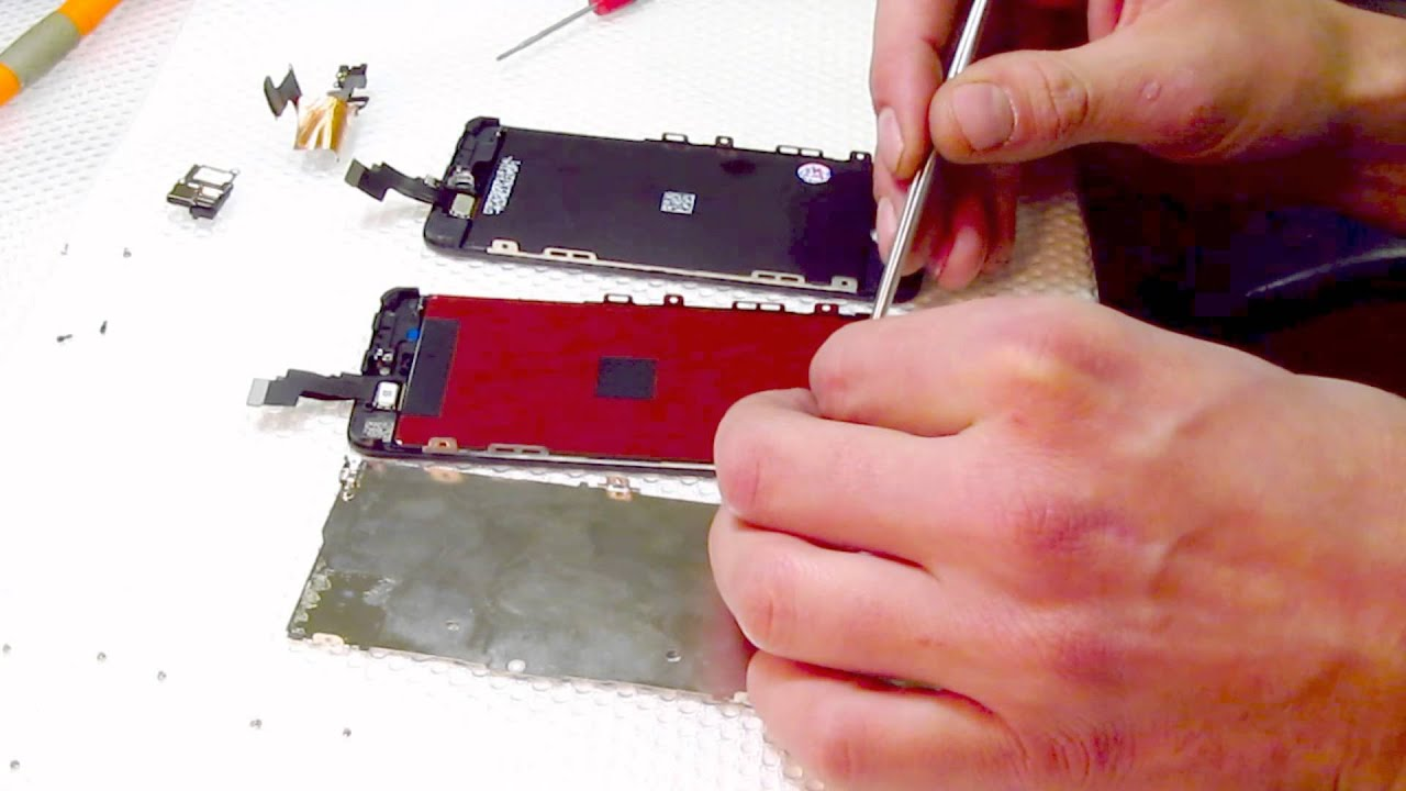 Замена стекла iphone 5c своими руками 74