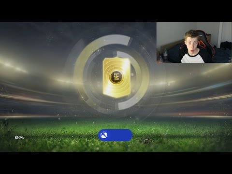 FIFA 15 MY FIRST HUGE PACK OPENING