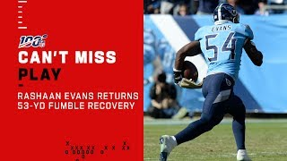 Titans Take the Lead w/ 53-Yd Scoop & Score!