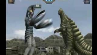 ウルトラマンFE3 実況プレイ 特別編 レッドキングVSバルタン星人の動画
