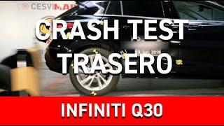 Crash Test Trasero Infiniti Q30