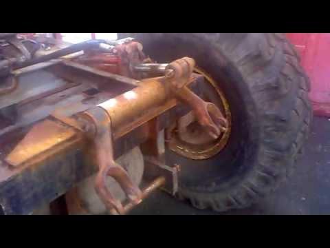 Сделать гидравлику на самодельный трактор