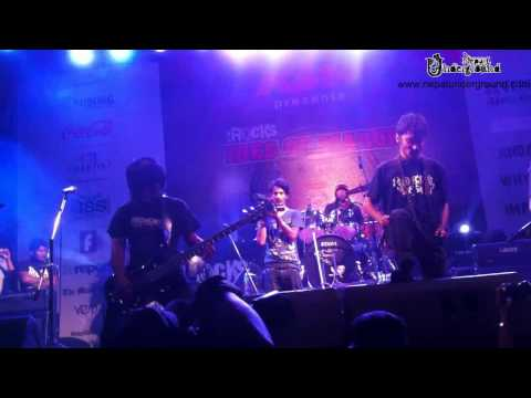 Severe Dementia Demented Mentation Live(nepal) At Ktmrocks Ides Of March 2012 video