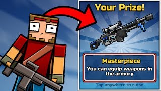 How To Get Free Unique Guns in Pixel Gun 3D! 120+ Event Chest Opening