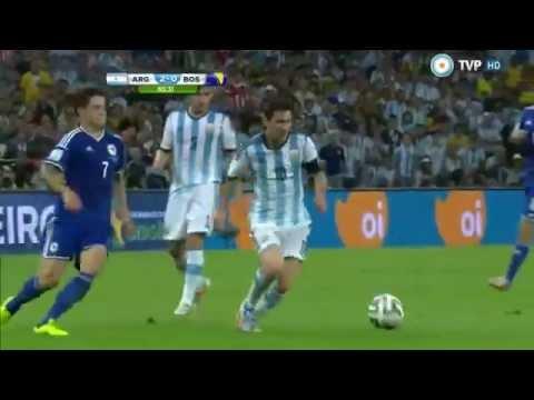Gol de messi narracion argentina ARGENTINA 2-1 BOSNIA