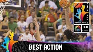 Brazil v Iran - Best Action - 2014 FIBA Basketball World Cup