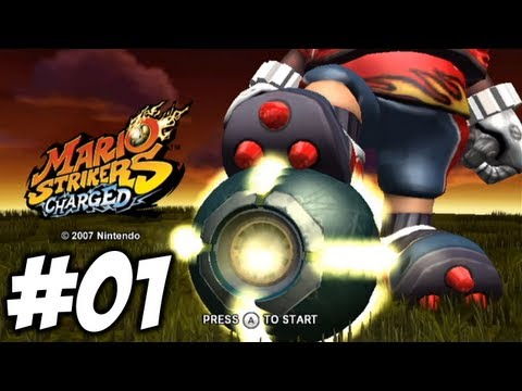 Mario Strikers Charged - Episode 01