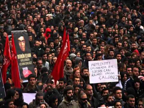 Ömür Erdoğan'ın vizöründen berkin elvan'ın cenaze töreni