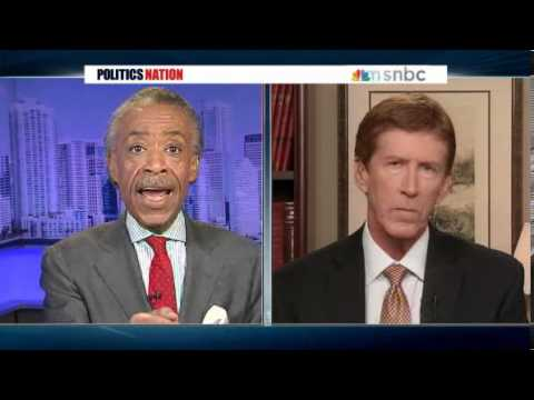 Al Sharpton Confronts George Zimmerman's Lawyer Over Trayvon Martin Case VIDEO