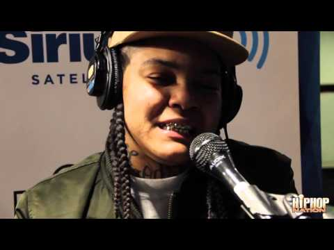 "Young MA performs ""Karma Krys (Sleep Walkin)"" Live on Hip Hop Nation Tor Guide With Torae thumbnail"