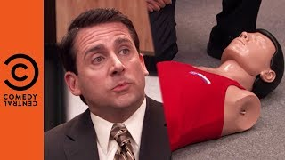 Dunder Mifflin's CPR Class   The Office US