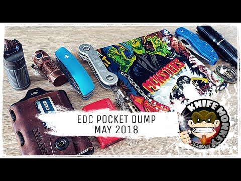 Pocket Dump EDC Update Everyday Carry May 2018