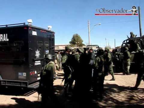Enfrentamiento en Gran Morelos