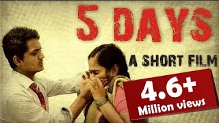 5 days _hindi short film based on domestic voilence
