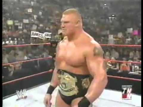 Brock Lesnar Interrupted By Triple H... Also Undertaker! video