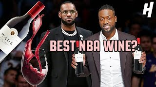 LeBron James vs. Dwyane Wade | Best WINE In The NBA?