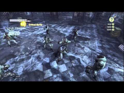 Batman Arkham City - Challenge Room - Survival of the Fittest ( C/ Comentario) [HD]
