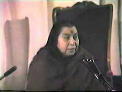 Atma Self Realization Hindi (Shri Mataji Delhi 1983) Sahaja Yoga Kundalini Bandhan Moksha - p3