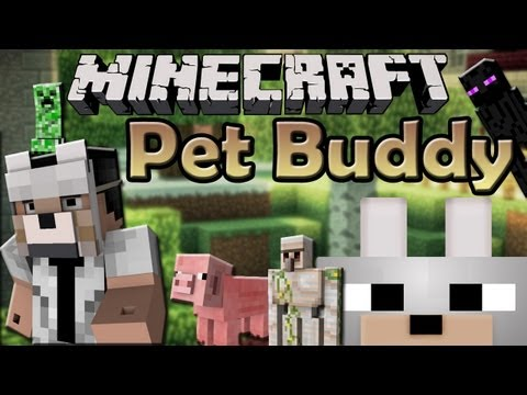 Minecraft Mods - Pet Buddy 1.5.2 Review and Tutorial (SMP) HAVE YOUR OWN BUDDY!