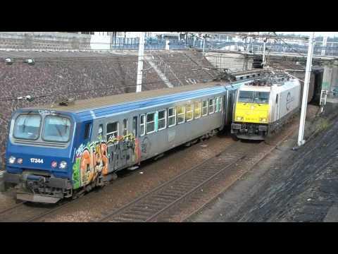 'ECR' Private Train in France, BR 186 locomotive