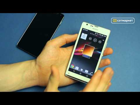 Видео сравнение LG Optimus G VS Sony Xperia SP от Сотмаркета