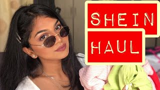 HUGE SHEIN HAUL || TRY ON CLOTHING HAUL || SHEIN INDIA ACCESSORIES